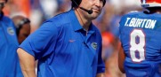 Florida Gators head coach Will Muschamp loses at home against Vandy. The pressure of his future in Gainesville will be more intense after this loss.