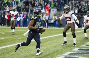 Seahawks WR Doug Baldwin TD vs the Bucs