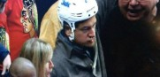 Fan Wearing Helmet
