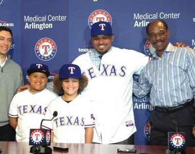 Texas Rangers Projected Lineup 2014