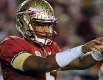 Jameis Winston overcomes early mistakes to lead FSU past Miami.