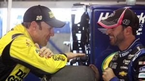 Matt Kenseth and Jimmie Johnson are tied for the Chase for the Sprint Cup Championship. This week the race in is Texas.
