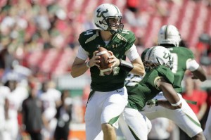 Freshman QB Mike White looked impressive in his first start for USF.
