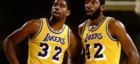 Magic Johnson_James Worthy