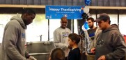 Magic Thanksgiving NBA Cares Victor Oladipo Jacque Vaughn