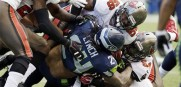 Seahawks RB Marshawn Lynch vs the Bucs