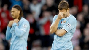Manchester City will look to bounce back following their shock defeat to Sunderland.