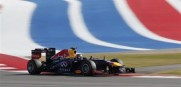 Sebastian Vettel of Germany  wins the U.S. GP. It was his eigth win in a row. Setting an F1 record.