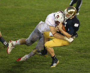 Stanford s Trent Murphy hopes to do to Oregon the same thing he did to the Irish.