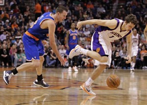 Steve Novak, Goran Dragic