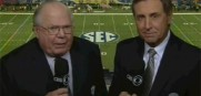 Verne Lundquist and Gary Danielson will be calling all the action of the Florida vs. Georgia Saturday on CBS.