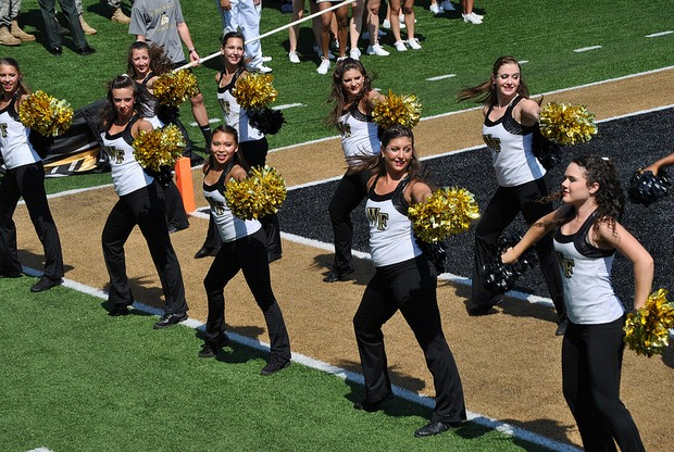 Wake_Forest_Cheerleaders