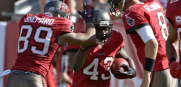 Bucs Running Back Bobby Rainey vs the Bills