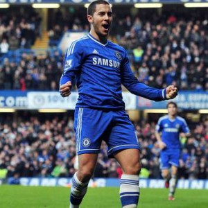 Eden Hazard has eight goals and two assists this season.