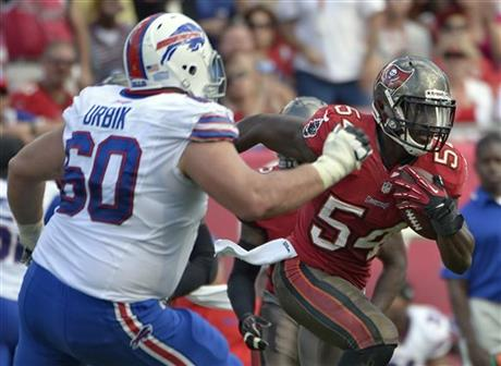 Bucs Lavonte David vs the Bills