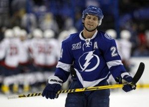 Martin St Louis and the Bolts get back to work this weekend.