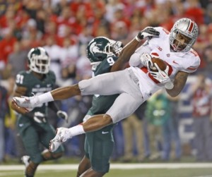 Ohio State loses to Michigan State and is headed to Miami for an Orange Bowl date