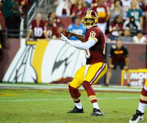 RGIII might be done for the season. The Redskins saga continues.