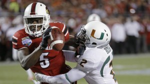 Teddy Bridgewater had a big night leading the Cards over the Canes in Orlando