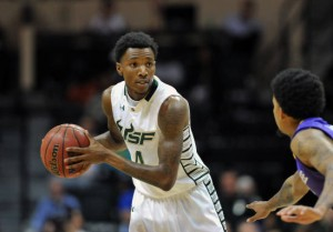 USF Guard Corey Allen, Jr scored a career high 22 points in the win over FAMU