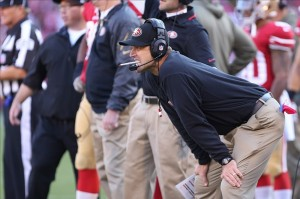 49ers Paul Wuff is headed to Tampa to be the Bulls new offensive coordinator