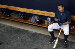 Alex Rodriguez  is unlikely to be part of the Yankees team that will be training in Tampa next month