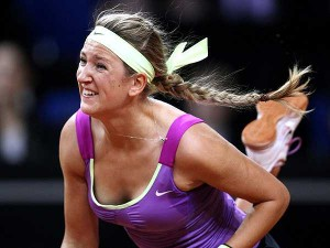 Belarus' Victoria Azarenka is looking for a third straight Aussie Open title