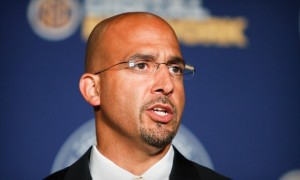 By 4:30 pm Saturday James Franklin will be the new head coach at Penn State.