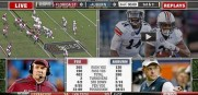 ESPN had something for everyone last night. Ratings were huge because the weather was bad keeping fans hom watching TV.