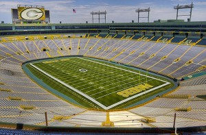There could be a rare non sell out Sunday in Green Bay leading to a local black out.