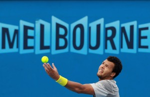 Jo-Wilfried Tsonga.could be the upset winner in Melbourne.
