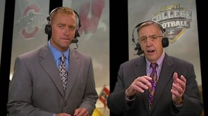 Kirk Herbstreit and Brent Musberger will get plenty of help on tonight's ESPN Megacast of the BCS National Championship Game.