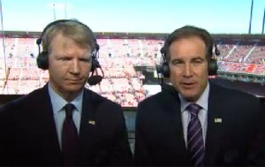 Phil Simms and Jim Nantz will call Sundays Chargers at Denver game on CBS