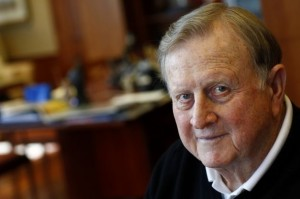 Red McCombs a long time Texas booster did not like the hiring of Charlie Strong