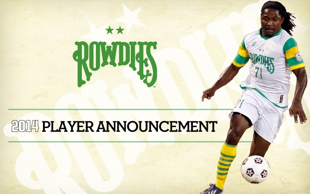 Rowdies Player Announcement