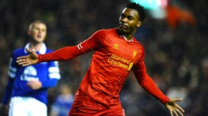 Daniel Sturridge's 12th and 13th goals of the season help Liverpool ease past rivals Eveton.