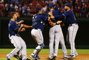 The Rays think that there could be a run at a World Series party in 2014