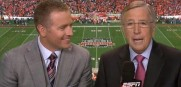 Will Monday's BCS National Championship game be the last time we see  Herbstreit and Musburger together?