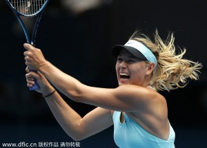 Maria Sharapova is out of the 2014 Australian Open