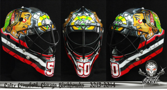 Blackhawks Helmet