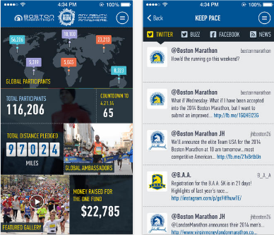 Boston Marathon App