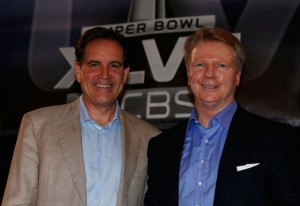 CBS crew of Jim Nantz and Phil Simms will add Thursday night football to their resume's
