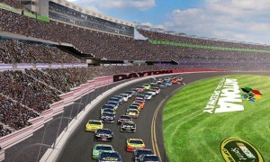 Daytona International speedway will get the Super Bowl treatment from Fox Sports.