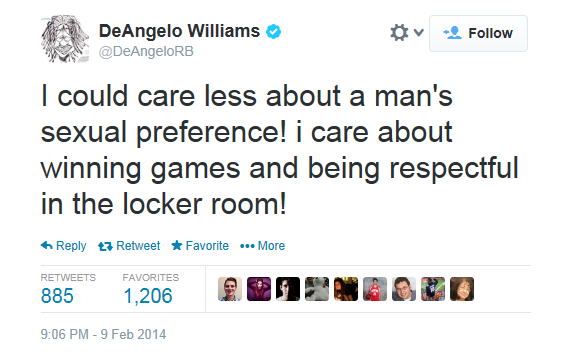 DeAngelo Williams Tweet