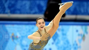 Russian Gold Medal star Adelina Sotnikova will be seen tonight on NBC
