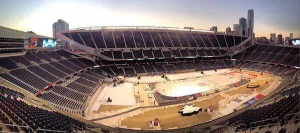 Field Today Today at Soldier Field in