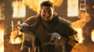 Tim Tebow saving puppies in a T-Mobile ad spot from the Super Bowl that drew rave reviews.