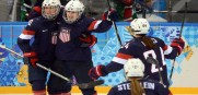 USA Women roll 9-0 over the Swiss get ready for a showdown with Canada on Wednesday