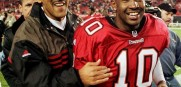 Tampa Bay Buccaneers Tony Dungy and Shaun King