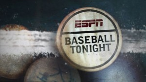 Baseball tonight will likely return to the Trop this season.j